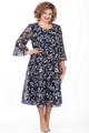 Платье Pretty 854 синие тона, размер 54-62