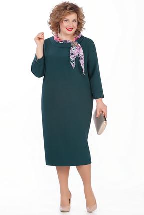 женское повседневные платье pretty, зеленое