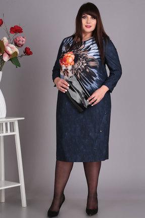 женское повседневные платье algranda, синее