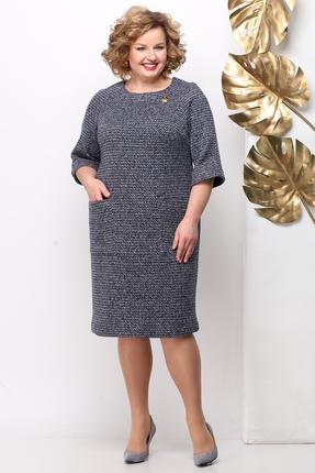 женское повседневные платье michel chic, серое