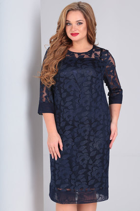 женское вечерние платье ollsy, синее