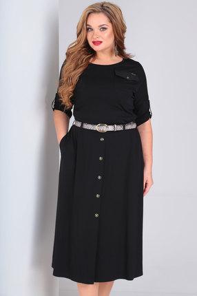 женское повседневные платье ollsy, черное
