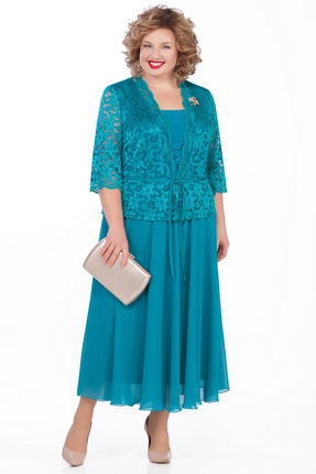 Платье Pretty 998 бирюзовый