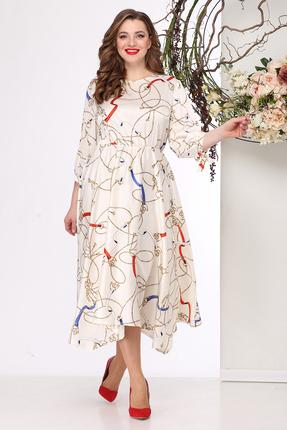 Платье Michel Chic 972 молочный