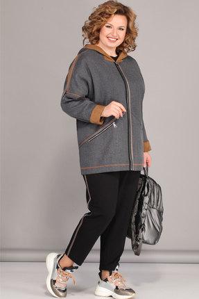 Комплект брючный Lady Secret 2670 серый с черным