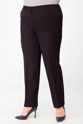 женские брюки lady three stars, черные