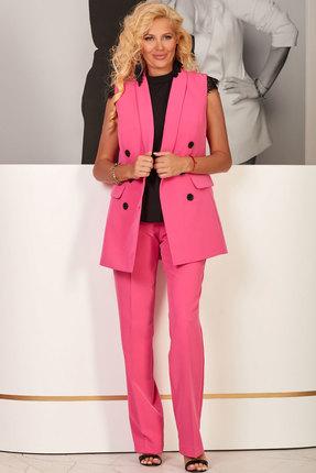 женский брючный костюм vesnaletto, розовый
