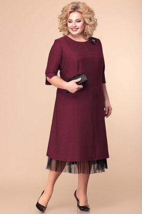 Платье Romanovich style 1-1918 бордо