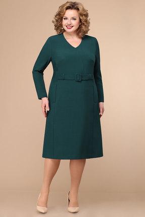 Платье Линия-Л Б-1783 изумрудный