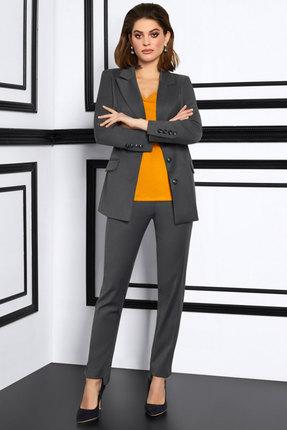 женский брючный костюм lissana, серый