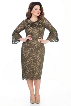 Платье TEZA 263 хаки