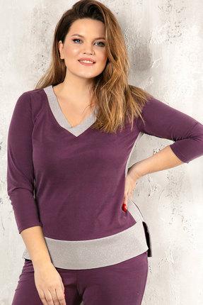 женская кофта jerusi, фиолетовая