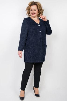 женский жакет tricotex style, синий