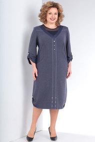 Платье Milana 150 синие тона