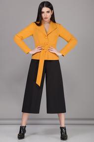 Комплект брючный B&F 1963 желтый с черным