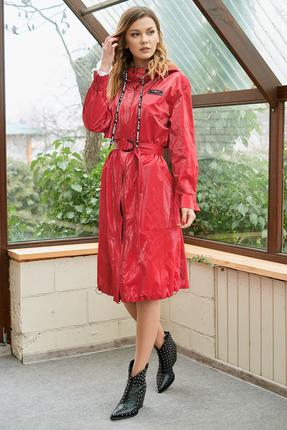Плащ Фантазия Мод 3653 красный
