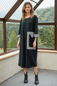 Платье Фантазия Мод 3665 черный