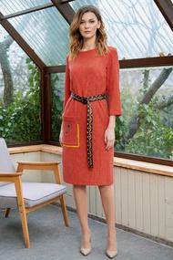 Платье Фантазия Мод 3635 терракот
