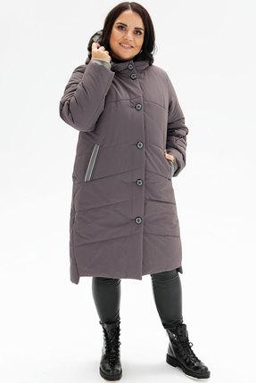 женское пальто bugalux, серое