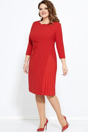 Платье Mira Fashion 4582-2 красный