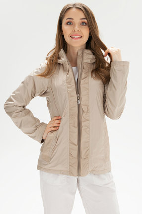 женская куртка bugalux, бежевая