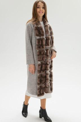 женское пальто bugalux, розовое