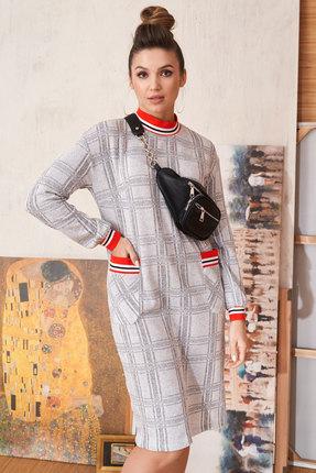 Спортивное платье ЛЮШе 2259 светло-серый