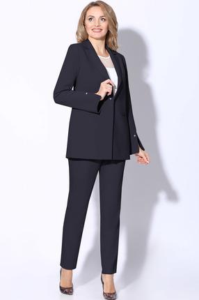 женский брючный костюм lenata, синий