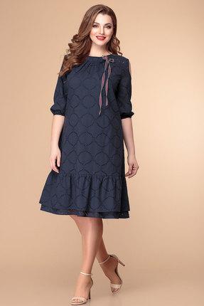 женское повседневные платье romanovich style, синее