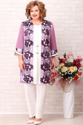 женский кардиган aira style, фиолетовый