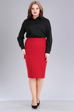 женская юбка foxyfox, красная