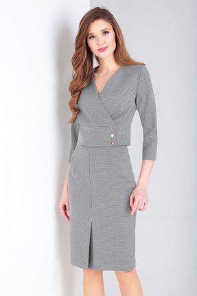 Комплект юбочный Милора-Стиль 754 светло-серый