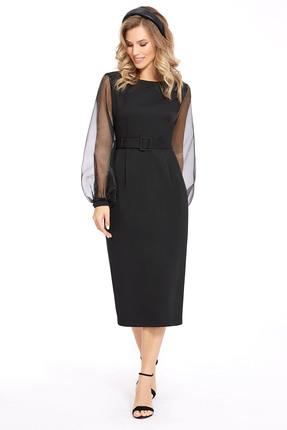 женское повседневные платье pirs, черное