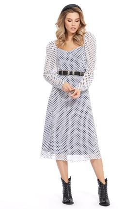Платье PIRS 926 белый