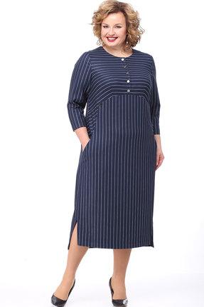 Платье Bonna Image 483 тёмно-синий