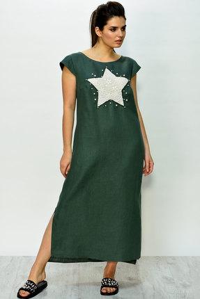 женское повседневные платье faufilure, хаки