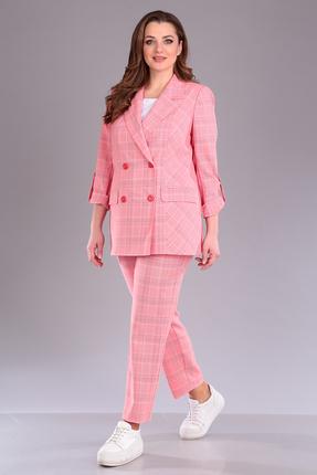 Комплект брючный Anastasia Mak 606 розовый