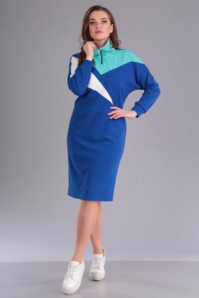 Спортивное платье Anastasia Mak 691 васильковый