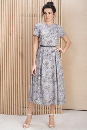 Платье ЮРС 20-179-2 серые тона