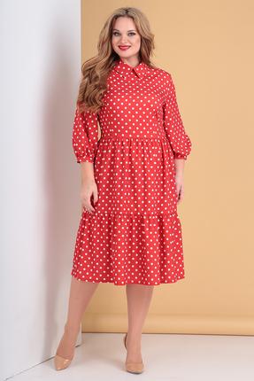 Платье Moda-Versal 2132 красный