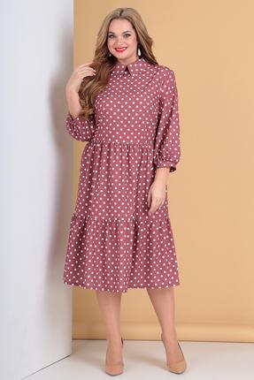 женское вечерние платье moda-versal, розовое