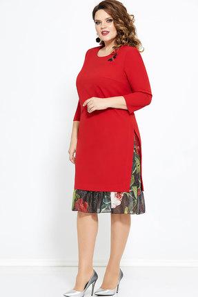 Платье Mira Fashion 4765 красный