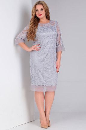 Платье Ollsy 1491 серые тона