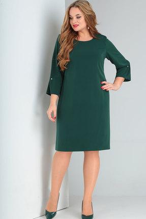 Платье Ришелье 765 зелёный