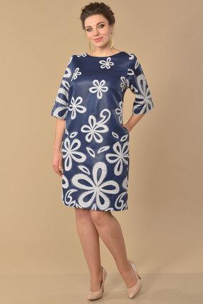 Платье Lady Style Classic 1030 синий