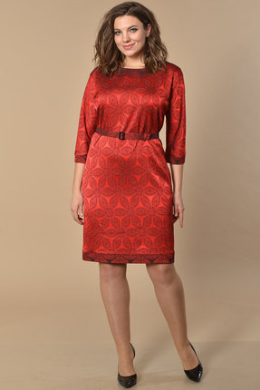 Платье Lady Style Classic 927 красный