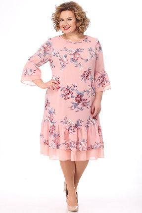 Платье KetisBel 1474 розовый