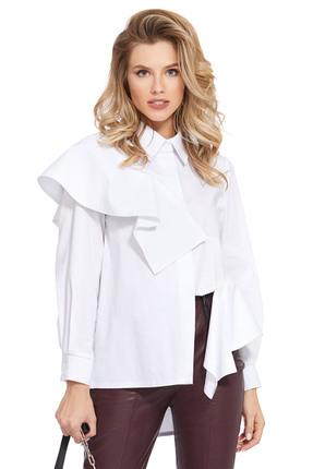 женская рубашка pirs, белая