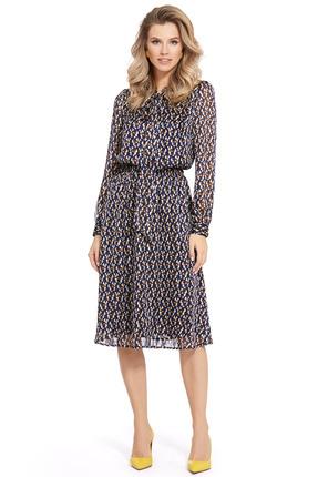 женское повседневные платье pirs, синее