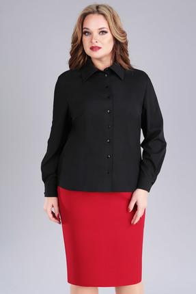 женская рубашка foxyfox, черная